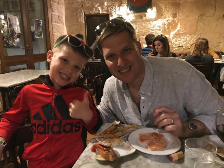 Mallorca Connor Daddy Dinner