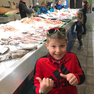 Mallorca Market Connor Fish