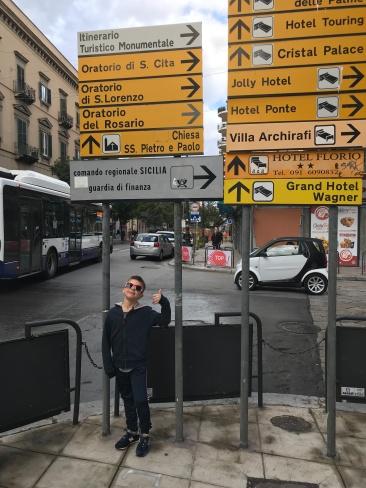 Sicily Sign