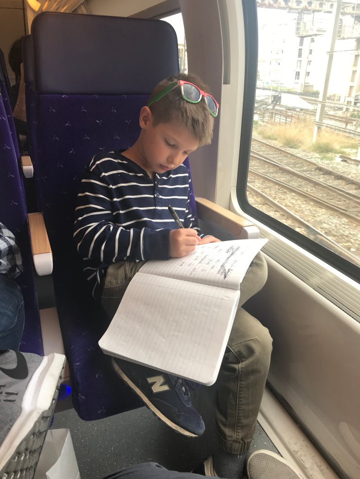 Connor Train Journal