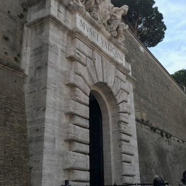 Rome Vatican Museum Sign